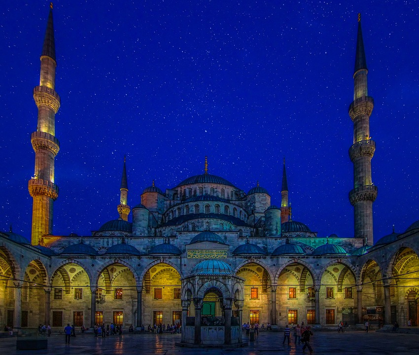 Turkey Blue Mosque